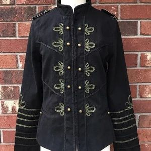 BLANK NYC Military Officer Jacket